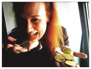 Playing with gold bullion